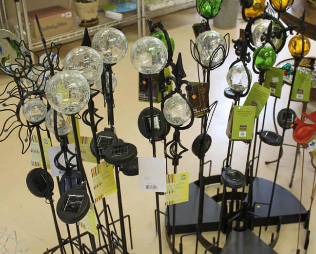 Solar Globes.
